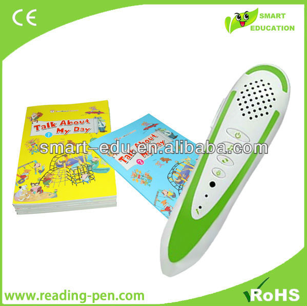 Certification authority efficient learning talking pen SE001 games french language learning