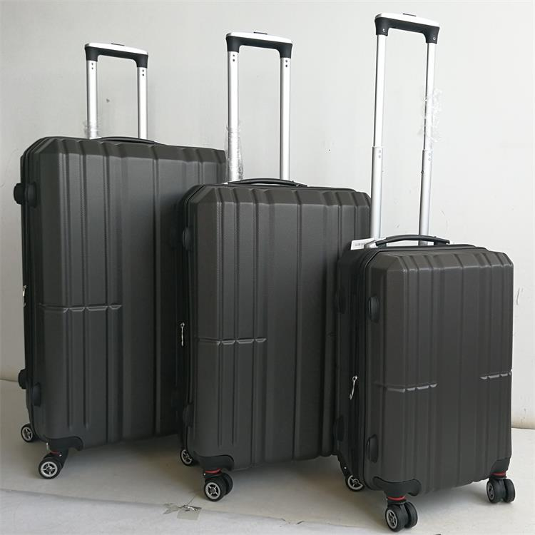 luggage factory in guangzhou china supplier hot sale 3pcs travelling luggage set bag