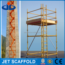 industrial aluminum scaffold tower made in 6061-T6