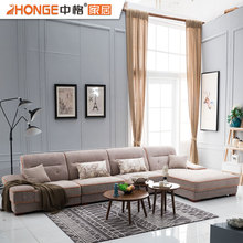 simple style corner sectional fabric new l shaped sofa designs set living room furniture