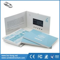 Provide Sample TV & Movie Character Theme Audio LCD Display Video Mailer HD Video Invitation Card