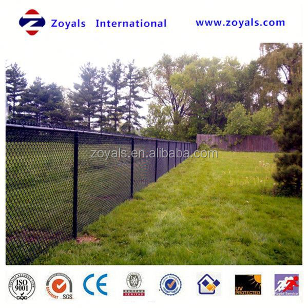 Reliable Supplier ISO 9001:2008 pvc chain link fence curtain factory