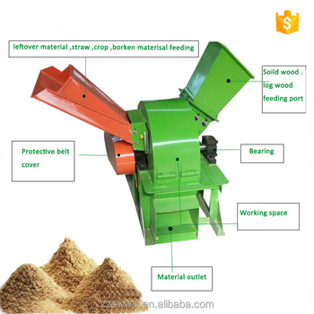 Best selling portable wood crusher