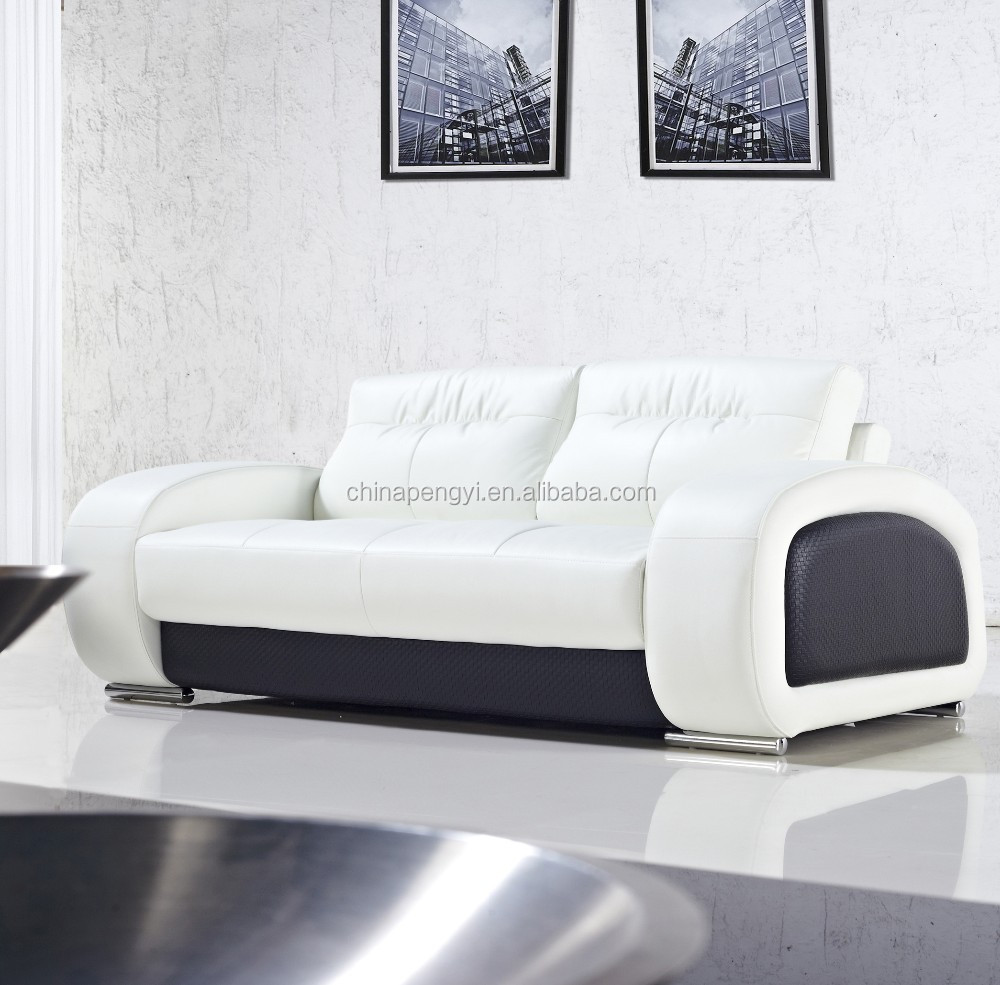 Best selling Factory Price High Quality modern leather sectional sofa PY316