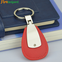 Promotion guangzhou leather per meter key chain