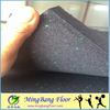 EPDM Rubber granules Flooring Tiles for gym room