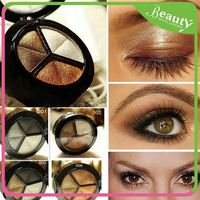Magic instant eyeshadow ,3 color makeup eyeshadow set ,H0Tyf 3 colors cream eyeshadow palette