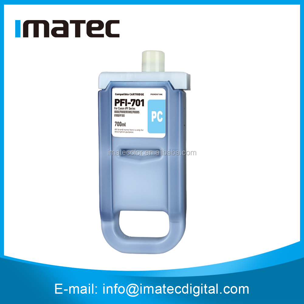 Wide Format iPF9000 Pigment Compatible Ink Cartridge For Canon,Plug And Play Compatible Ink Cartridge