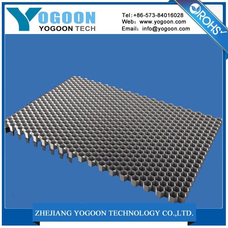 activated carbon air filter sheet with aluminum honeycomb core used for purifiers