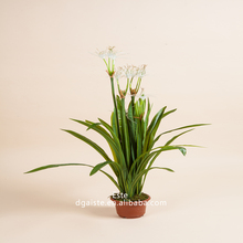 artificial plant bonsai,decorative spider orchid potted plant