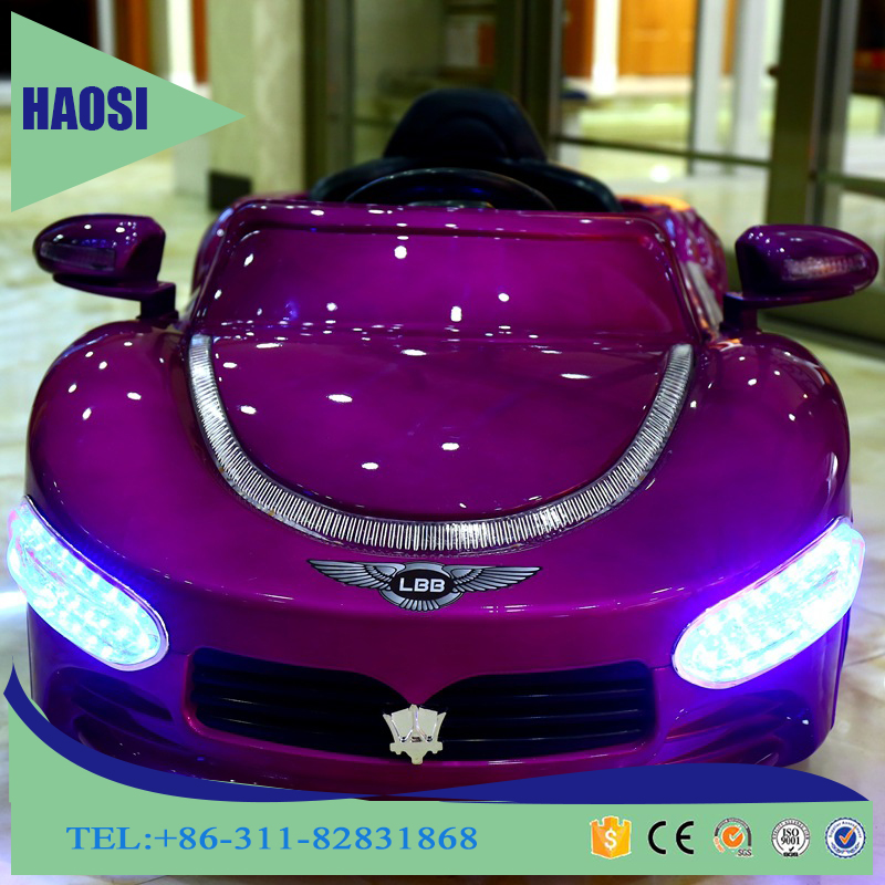 luxury electric car toy 12V for kids to drive,battery operated remote control kids ride on car,RC Car for Children