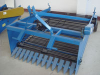 combine potato harvester