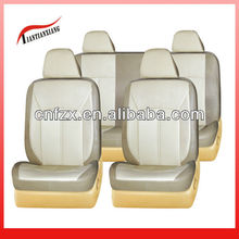 Coffee and Beige PVC Cover Seats Car for 2013 Camry Accessories with Chair Headrest Covers