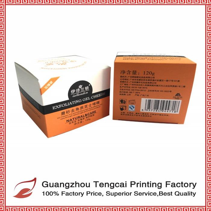 ecofriendly paper box for pharmaceutical medicine drug packaging