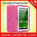 7 Inch 2500mAh Battery Quad Core WIFI Lovely Android Educational Kids Tablet PC Boxchip Q704