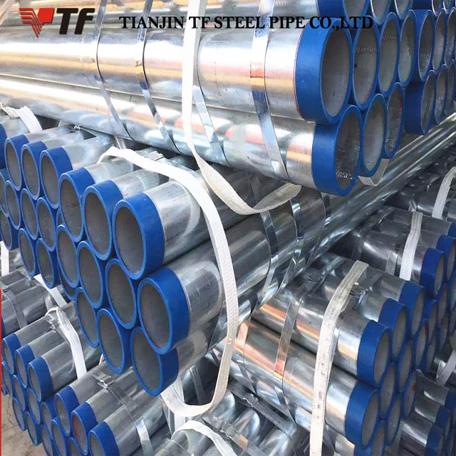 China suppliers new product the first-class packaging pipe galvanized scaffolding