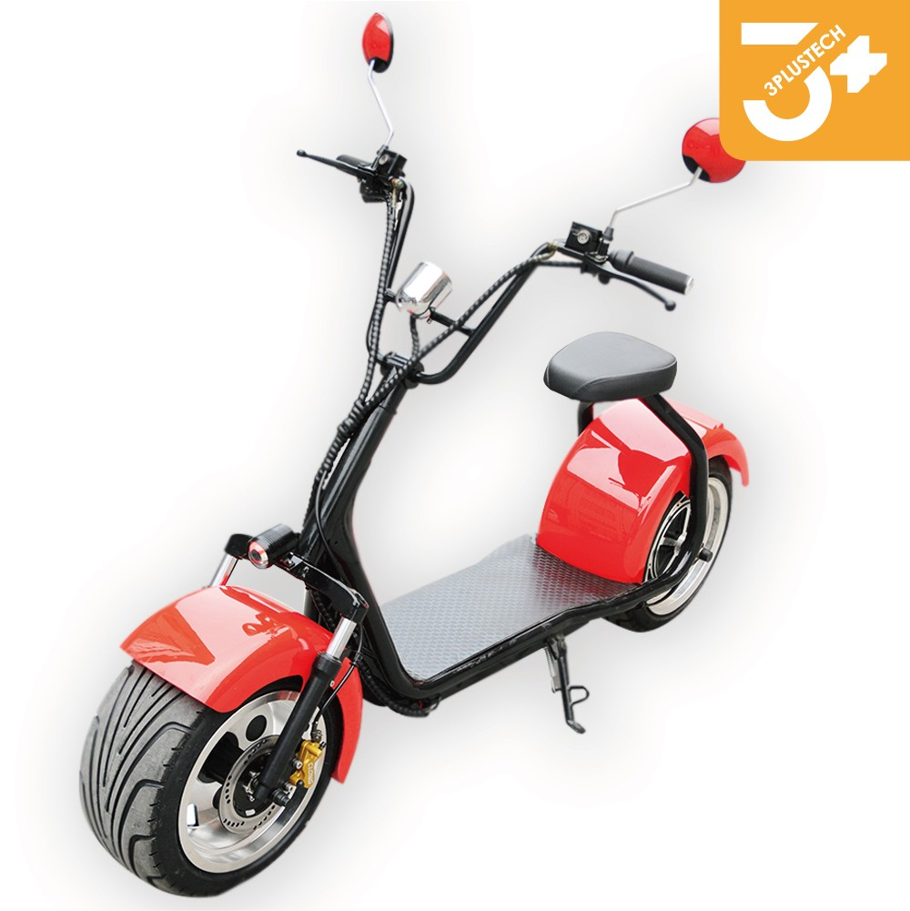 2017 New big wheel electric scooter with certificate