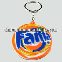 2013 hot sale PVC new york keychain wholesale