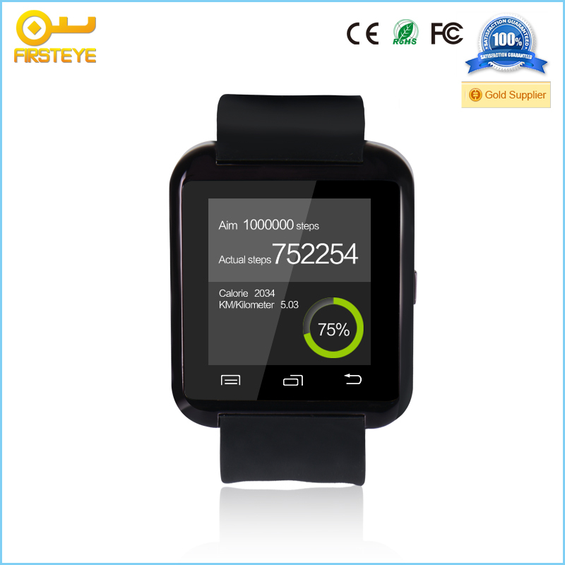 Android 4.3 OS, IOS 7.0 smart watch dual sim cards watch mobile phone