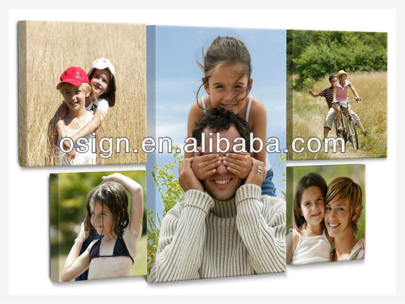 Family canvas,art canvas banner fabric,blank canvas for painting &printing