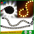 2pcs/Set 16 LED Flexible DRL Daytime Running Light Driving Daylight Turn Light For Cars