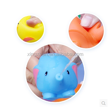 Hot sale animal water jet Baby bath toys OEM Eco-friendly PVC plastic toy for kids