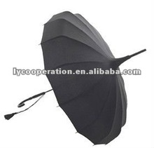 Wedding Pagoda - Black umbrella