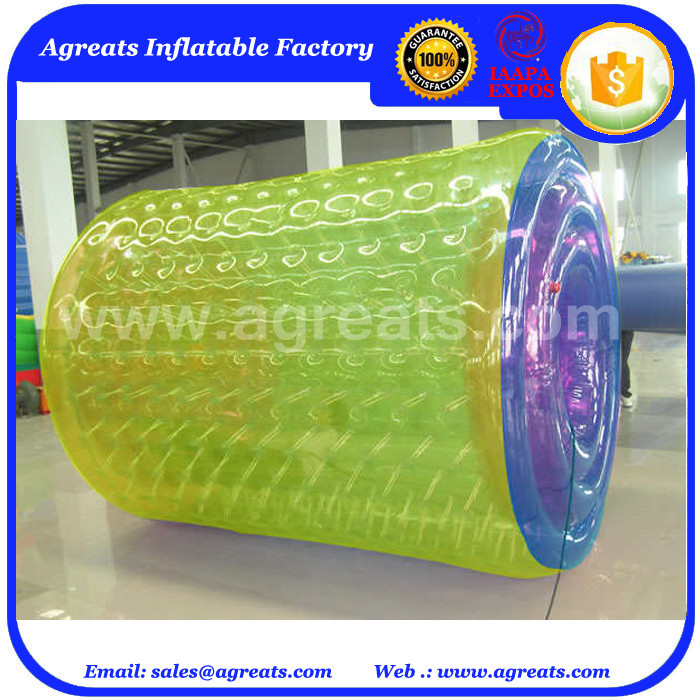 Funny Hot design new games inflatable water roller for pool game GW7080