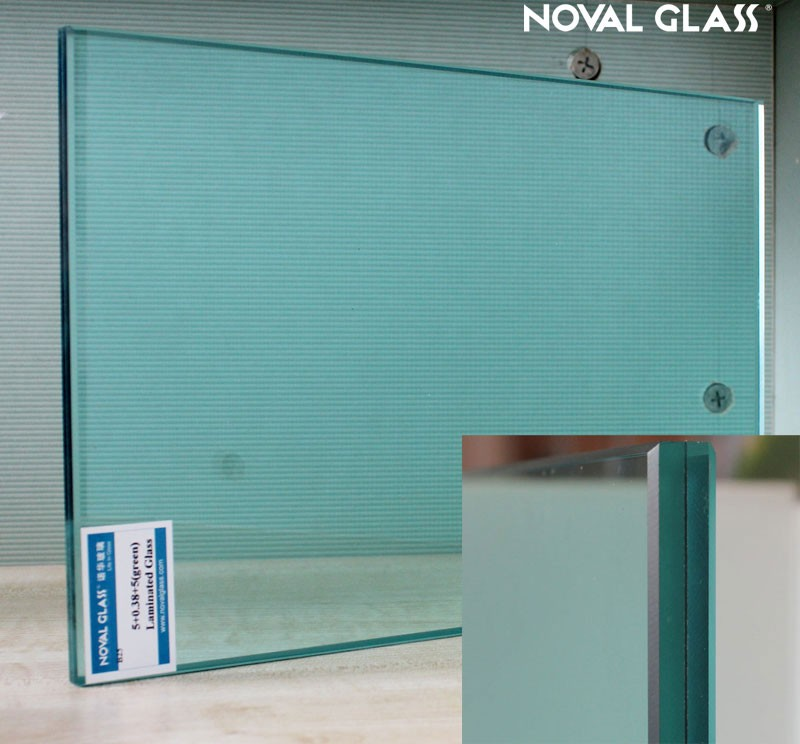 Tempered laminated glass for exterior building glass walls for Exterior glass walls