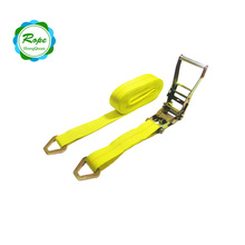 heavy duty 2 inches Ratchet Tie Down Straps with Delta Ring