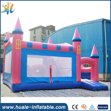 HUALE 0.55mm PVC Inflatable jumping castle,bouncy castle bouncer for playing