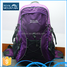 New design factory price wholesale polyestor outdoor OEM travel bags 8398 50L canvas army backpack for brand name