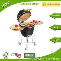 Retailer's Choice Charcoal Grill Auplex Kamado Stainless Steel Outdoor Grill accessories bbq barbecue barbeque