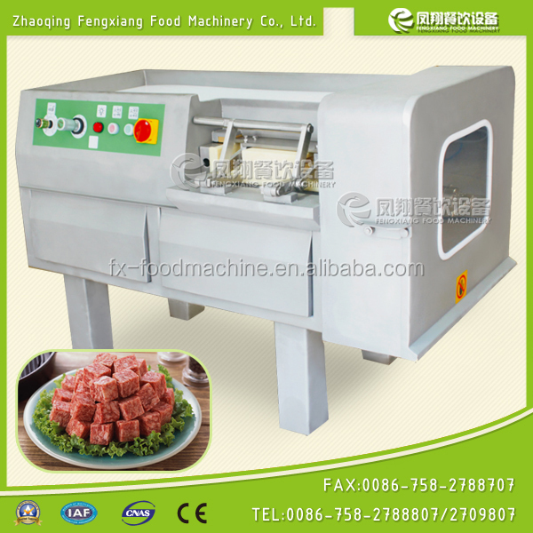 FX-350 CE approval electric industrial beef dicer,diced meat cutting machine
