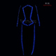 Jazz LED Costumes / Luminous Robotic Style Clothing / Waterproof LED Light Suit