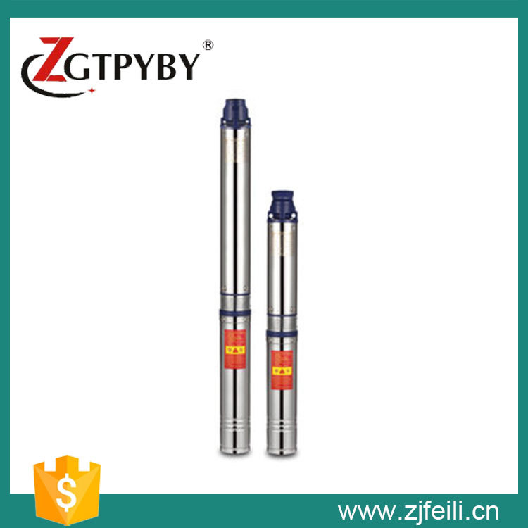 Stainless steel vertical multistage high pressure submersible pump for electric submersible pump