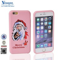 Veaqee soft rubber gel silicon cellphone case cover for iphone 6