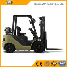 Wholesale Market All Rough Terrain Vmax 3.5 Ton Container Petrol LPG Forklift Truck