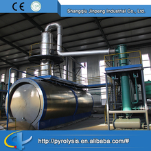 Cycle water Cooling Method Pyrolysis Used Tire Oil Distillation Plant
