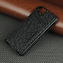 High Quality Cellphone Leather Case 1 Credit Card TPU PC Holder for iphone 5se