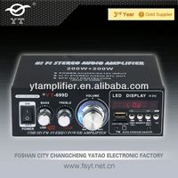 yamaha sound mixer YT-699D support usb sd