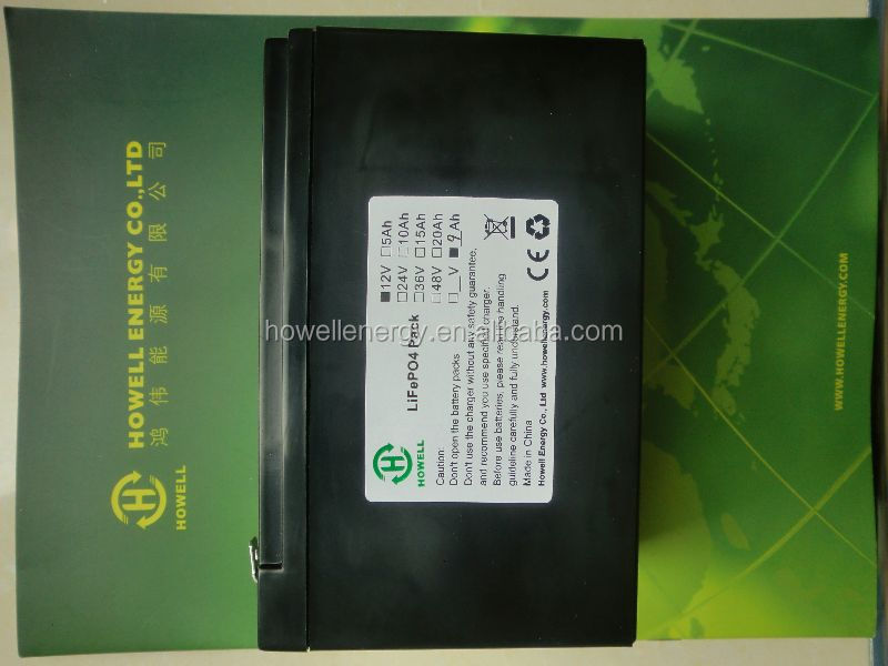 12v 20ah lifepo4 battery pack power kettle/ golf caddy battery