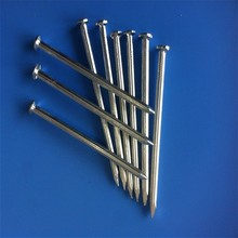 New design size:50mm electro galvnaized concrete steel nails with high quality