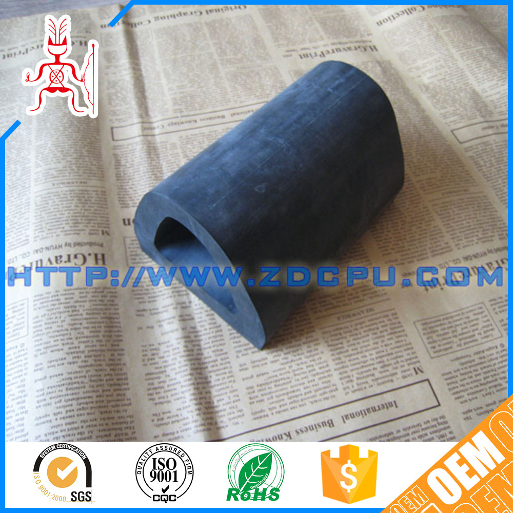 CNC machining molded boat rubber bumper