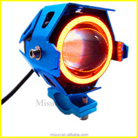 motorcycle accessories 125W Motorcycle U8 LED laser light car