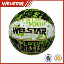 rubber material colorful mini basketball