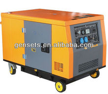 10kw/10kva two cylinder silent portable Gasoline/petrol/Gas Generator price