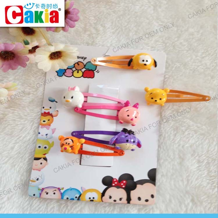 Popular baking paint for metal cute resin doll tiy hair clip used merry go rounds for sale