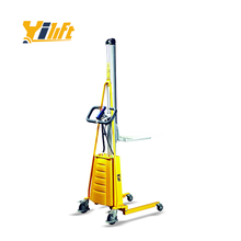 Best quality hot sale electric manual hand stacker forklift