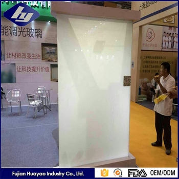 Customized Laminating Dimming Smart Manufacturer PDLC Switchable Glass